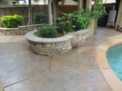 this image shows retaining wall laguna niguel