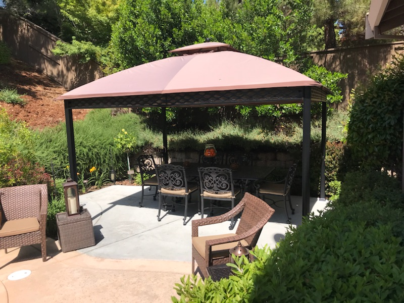 this is an image of flagstone patio in Laguna Niguel
